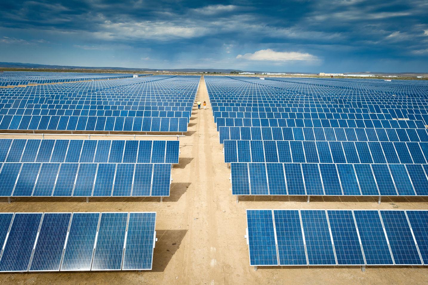 Parc fotovoltaic solar for Pannelli solari solar