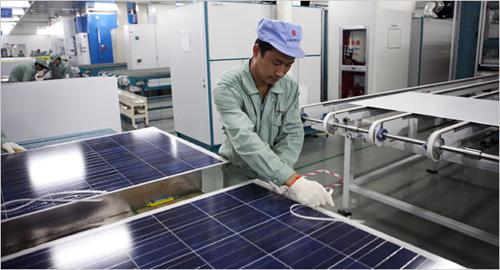 panou fotovoltaic din China