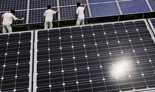 panouri solare china