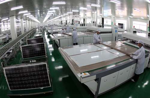 fabricarea panourilor solare