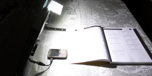 lampa cu LED-uri