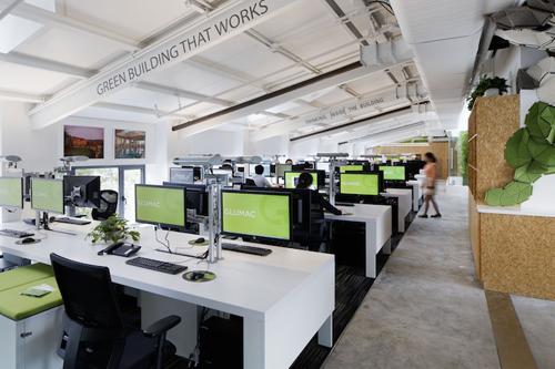 birou care produce energie curata