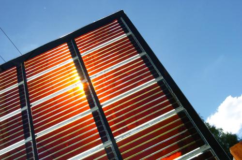 panou solar din din peroskit