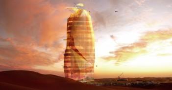 Oras sustenabil in desert