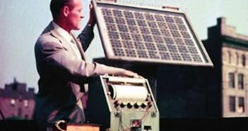 istoria energei solare