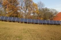 panouri solare fotovoltaice la ferma