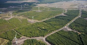 Parc eolian din Holyrood, Scoția