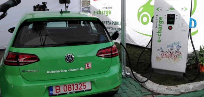 statie de incarcare masini electrice Kaufland