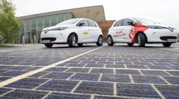 Premieră mondială. S-a construit primul drum solar care poate asigura iluminatul public pentru un oraș