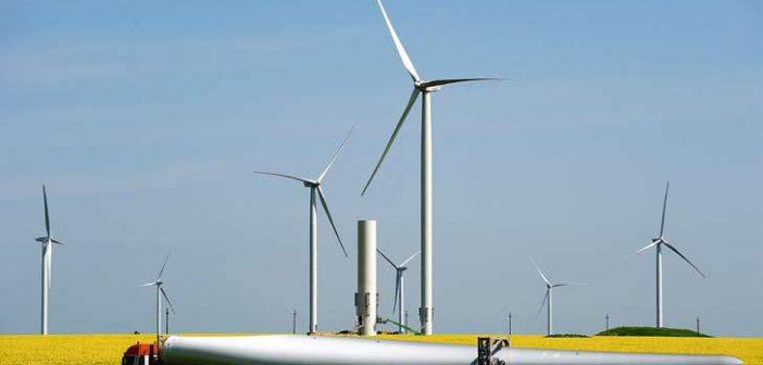 Energia eoliană devansează cărbunele, fiind a doua sursă de electricitate a Uniunii Europene