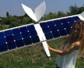 Italienii au prezentat drona solară care poate zbura fără baterie la bord. Cât poate rămâne în aer