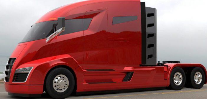 Tesla lansează primul camion electric în toamna anului 2017