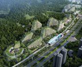 Chinezii construiesc un oraș acoperit de vegetație și dotat exclusiv cu sisteme de energie regenerabilă!