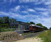 Unul din trenurile construite după cel de-al doilea război mondial circulă cu ajutorul energiei solare