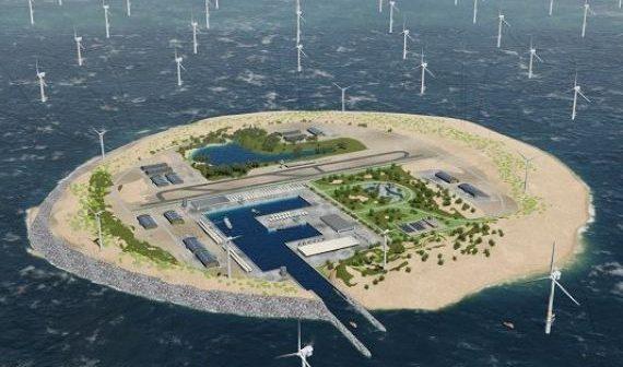 Proiect grandios: o insula din Marea Britanie va fi transformată într-o baterie gigant