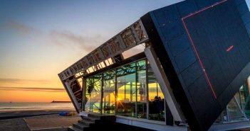 Casa revoluționară ce se învârte ca floarea-soarelui pentru a capta lumina solară