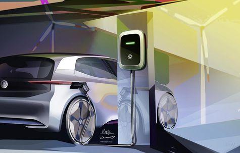 Volkswagen vrea să folosească doar energie regenerabilă pentru producția modelului electric ID