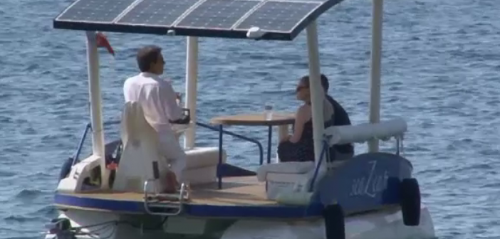 Plimbări cu bărci solare pe riviera franceză
