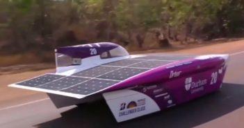Cursa automobilelor propulsate cu energie solară a început în Australia