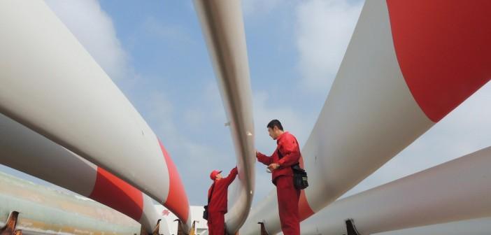 turbine eoliene produse in China